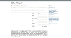 Preview of office-virtuell.de